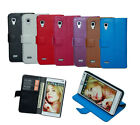 luxury Flip wallet stand Leather Case Cover for LG SONY SAMSUNG NOKIA blackberry