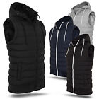 URBAN CLASSICS ® SMALL BUBBLE HOODED VEST DÜNNE HERREN STEPP KAPUZEN WESTE S-XXL
