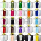 """25 Satin Table Runners 12"""" x 108"""" Wedding Party Banquet Supply Decor Colors New"""