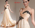 eDressit Beige One Shoulder Style Evening Dress Party Ball Gown US4-18 00136314