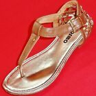 NEW Girl's Youth's JOSMO Brown/Gold  Strappy Sandals Fashion Casual Dress Shoes