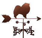 SWEN Products KEESHOND DOG Steel Weathervane