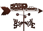 Hand Made  5TH WHEEL CAMPER Weathervane ~NEW~