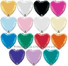 "5 x 18"" Foil Heart Helium Balloons Wedding Engagement Birthday Party Decorations"