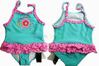 Cute Girls Baby bath suit Kids Ruffles flower swimsuit Swimwear hot spa Dress S2