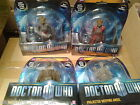 DOCTOR WHO FIGURES - SILURIAN WARRIOR ALAYA, WEEPING ANGEL, PROJECTED ANGEL