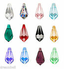 Swarovski Crystal Element 6000 Teardrop Pendant Many Color & Size