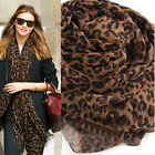 HOT Sexy Ladies Animal Leopard Print Soft Shawl Scarf Wrap Long Pashmina Stole