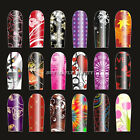 20Pcs Nail Art 3D Designed Sticker Wrap Patch Multicolor Strip Tips 99Styles 03