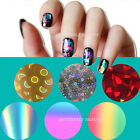 20 Style Nail Art Tips Decoration Foil Wrap Transfer Paper Glitter Sticker Decal