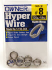 Owner Hyper Wire Heavy Duty Split Rings - All Sizes