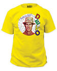 Devo T-Shirts - Q: Are We Not Men? Yellow T-Shirt - Brand New