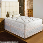 NEW FIRM ORTHO DIVAN BED + 10 INCH MATTRESS SIZES 2ft6 3ft 3ft6 4ft 4ft6 5ft 6ft