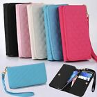 PU Leather Case Wallet Cover Bag Wristlet For Samsung Galaxy NOTE 3 N9000 N9005