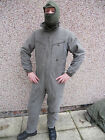 German Army Surplus One Peice Tank Suit and Quilted Liner Olive Drab Green