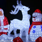 ILLUMINATED 3D LED INDOOR ACRYLIC CHRISTMAS DECORATION FIGURE LIGHT-8 VARIATIONS
