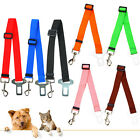 Strong Pet Dog Car Travel Safety Seat Belt Adjustable Clip Lead Strap Harness