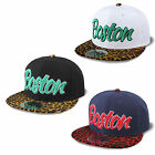 "Snapback Cap Cityhunter City ""leopard"" 2-tone New Ethos Trucker Era Cap"
