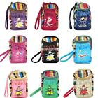 Elegant Women 10 Colors Clutch Bag Splicing Knitting Coin Purse Wallet Nice C99D
