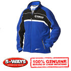 Yamaha 2014 Paddock Fleece. Blue with Logo's. 'Various Sizes' Brand New