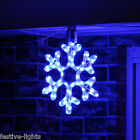 LED SNOWFLAKE ROPE LIGHT OUTDOOR CONNECTABLE CHRISTMAS SILHOUETTE DECORATION