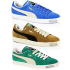 MENS BOYS PUMA CLASSIC CASUAL LACE SUEDE LEATHER SKATE SPORT TRAINERS SHOES SIZE