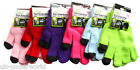 Adults Womens Ladies Touch Screen Smart Knitted Gloves Magic Stretch Winter Warm