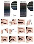 Box of 12pcs Real Mink Mixed Color Strip Eyelashes Extensions 0.1mm J1017
