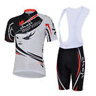 Speed Queen Cycling Bike Short Sleeve Clothing Set Women Jersey Bib Shorts
