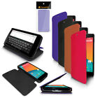ULTRA SLIM FOLIO FLIP STAND WALLET CASE FOR LG GOOGLE NEXUS 5