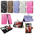 LG Optimus G Pro E980 F240K PU Leather Wallet Card Flip Open Case Cover Pouch
