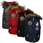 BOYS SANTA MONICA M121271C DESIGNER PADDED WARM BODY WARMER GILET AGE 7-13 YEARS