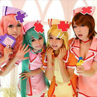 Sexy Hatsune Miku maidservant outfit nurse cosplay costume Fancy dress WSJ54