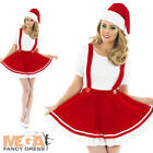 Christmas Gnome Ladies Fancy Dress Festive Santas Grotto Womens Costume Outfit