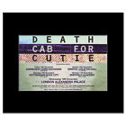 DEATH CAB FOR CUTIE - UK Tour 2008 Matted Mini Poster