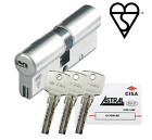 Euro Cylinder Cisa Astral S High Security UPVC Barrel Door Lock Anti Drill Snap
