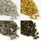 100 Spring Bails 7mm - Pendant Findings - Choose Silver, Bronze & Gold Plated