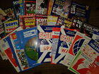 Scotland HOME programmes 1960's onwards choose from list FREE UK P&P