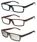 Man Woman Reader Spring Hinge Temple Reading Glasses - RG06 Assorted Color