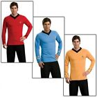 Star Trek TOS Uniform Adult Classic Shirt Original Series Costume Fancy Dress