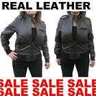 100% Real Leather Exclusive Fitted Ladies Womens Girls Jacket Coat Biker Style