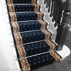 Pin Dot Blue - Stair Carpet Runner For Narrow Staircase Modern Quality Cheap New