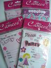 20 Party INVITATIONS & Envelopes - BIRTHDAY GIRL - PINK {Fixed £1 p&p}{HB PI}