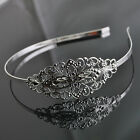 Upick 2/5/10pcs Ladies Lovely Silver Hairpin Head Band 5x14cm Width 5mm DZ174