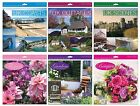 SQUARE/WALL CALENDAR & DIARY SET 2014 (Month to View) - Large Range of Designs