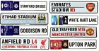OFFICAL FOOTBALL CLUB - METAL 3D CAR WINDOW BEDROOM HANGING SIGN WALL XMAS GIFT
