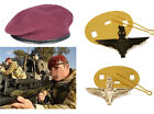 High Quality Parachute Regiment Maroon Beret + Official Cap Badges (All Sizes