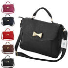 Ladies Girls Designer Celebrity Shoulder Satchel Faux Leather Shoulder Handbag