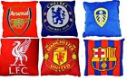 OFFICAL FOOTBALL CLUB TEAM -  SQUARE CREST CUSHION PILLOW BED ROOM - GIFT XMAS