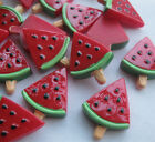 20/60pcs Watermelon Resin Flatback Buttons DIY Scrapbooking Appliques JCN042